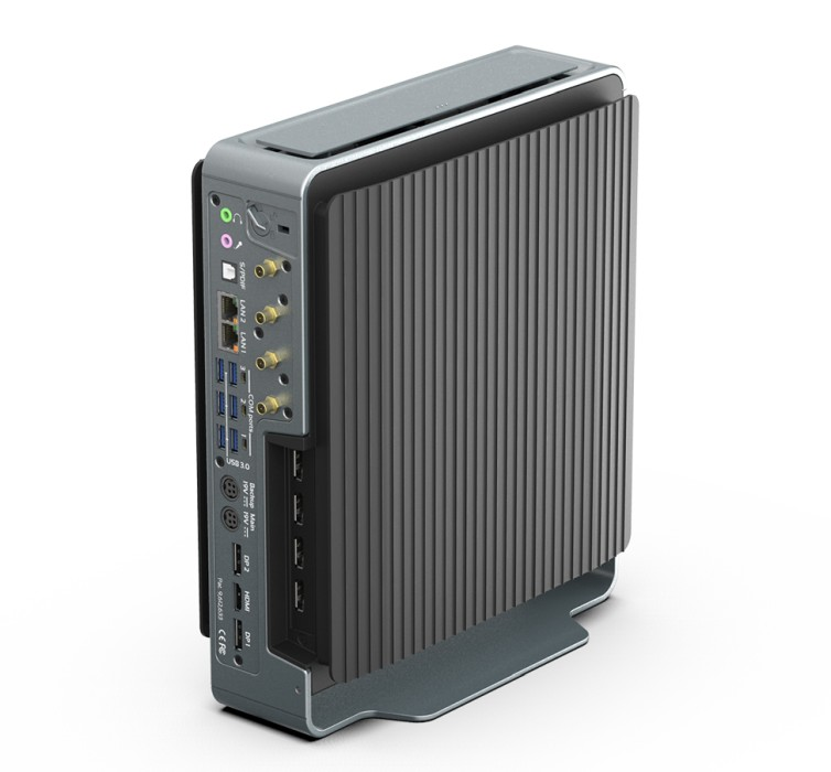 Compulab Airtop3 is a fanless PC with Core i9-9900K/NVIDIA Quadro RTX 4000