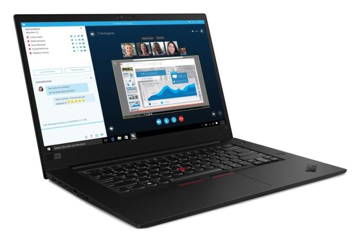 Lenovo's new ThinkPad X1 Extreme supports 9th-gen Intel Core i9