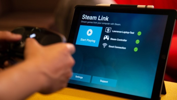 Valve's Steam Link game streaming app finally hits the App