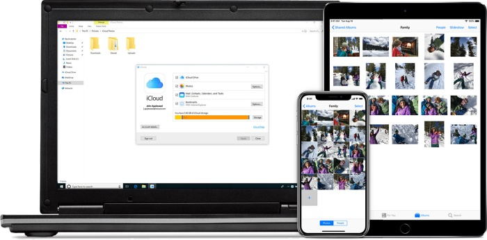 Apple launches new iCloud app for Windows 10 - Liliputing
