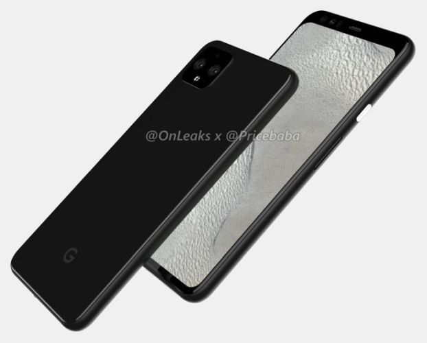 This could be the Google Pixel 4 XL (design leak) - Liliputing