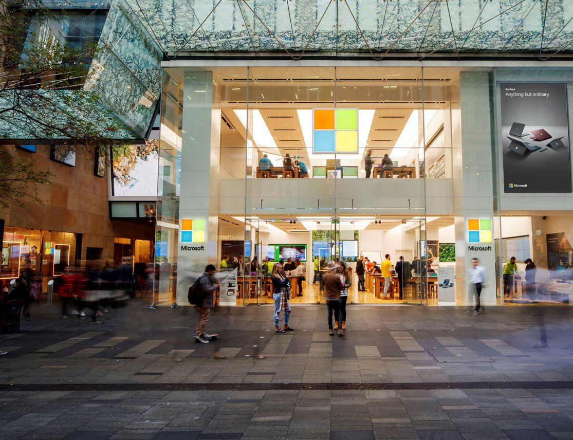 Almost 11 years after opening its first bricks and mortar retail store, Microsoft had 83 stores around the world at the start of this year. Now the co