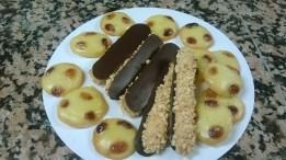 Batons de marechaux and palets aux raisins