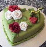 Sant Jordi celebration cake