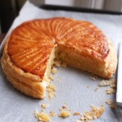 Pithiviers, galette des rois (king cake) for Epiphany