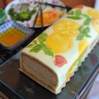 The mojito lemon drizzle loaf, how to paint on a cake and the May cake collection!