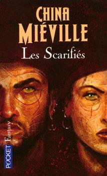 Couverture du roman Les Scarifiés de China Miéville : deux pirates