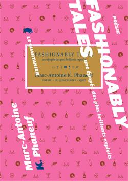 Couverture de Fashionably Tales : une épopée des plus brillants exploits