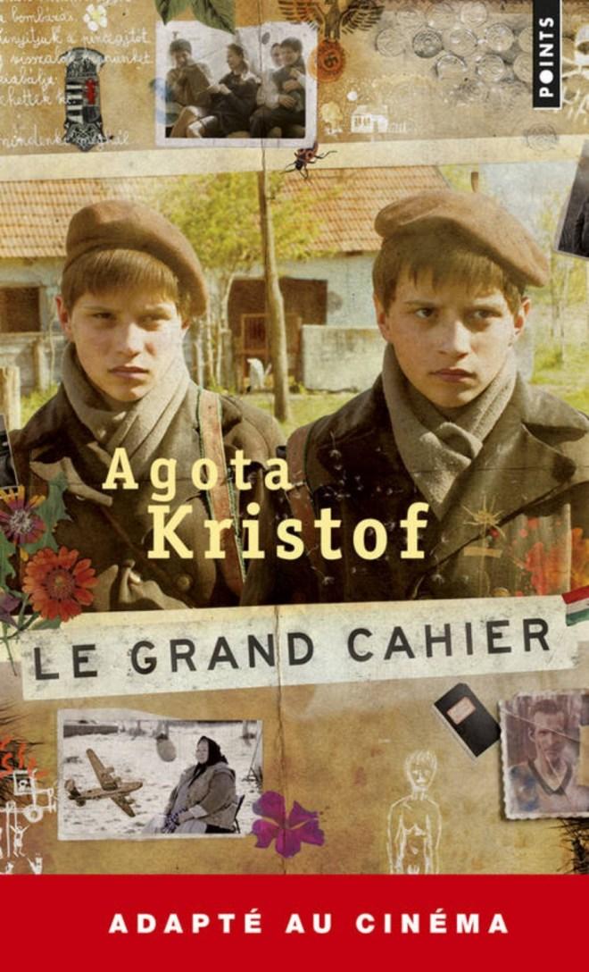 Couverture du Grand Cahier d'Agota Kristof : les jumeaux de l'adaptation au cinéma