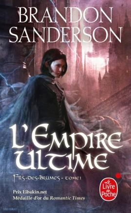 Couverture de L'empire ultime, Livre de Poche