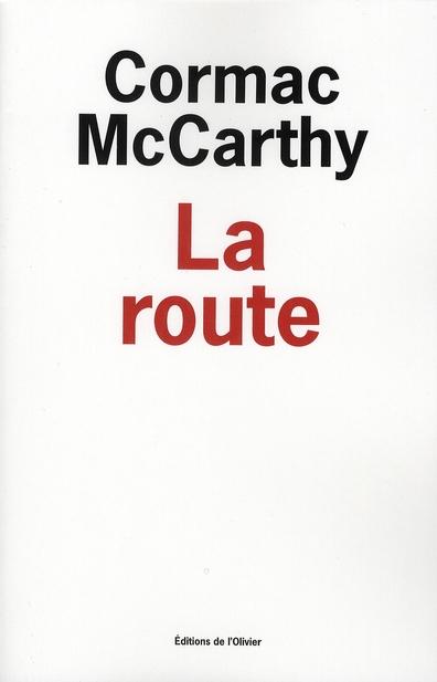 Couverture de La route de Cormac McCarthy
