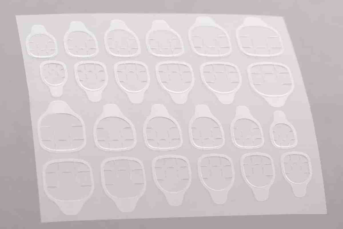 24 Adhesive Tabs for Press on Nails | Nail Glue Alternative | Nail Adhesive | Fake Nails | Nail Stickers | Stick on Nails | Fake Nails