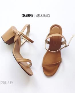 Block Heels Sabrine Tan