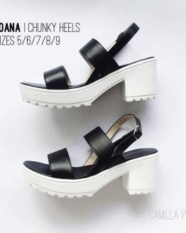 Chunky Heels Joana Black