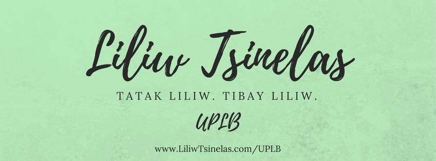 Liliw Tsinelas in UPLB