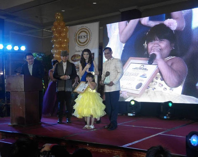 GOLDEN GLOBE ANNUAL AWARDS FOR BUSINESS EXCELLENCE Ryza Mae
