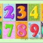 Изучение цифр