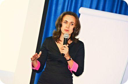 Наталья Одегова, основательница тренинг-центра 1day1step.ru