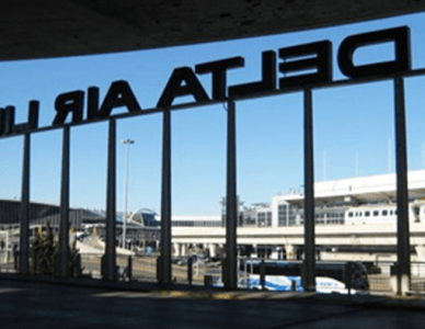 Delta Airlines Terminal 2 and 3