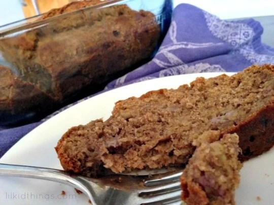 Easy Banana Bread recipe {made with SPLENDA®}