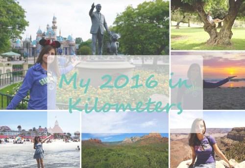 My 2016 in Kilometers