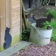 Le jardin de la goutte d'eau - les chats