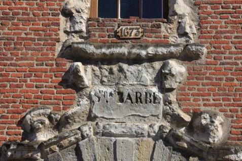 lille citadelle sainte Barbe 1673