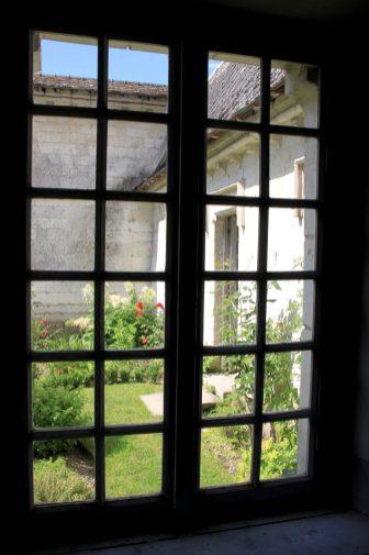 Chartreuse Neuville - hermitage vue sur jardin