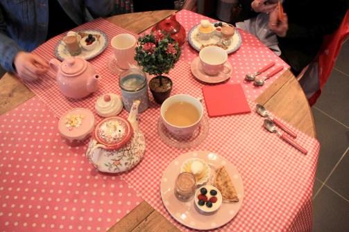 Soph Tea tablée gourmande