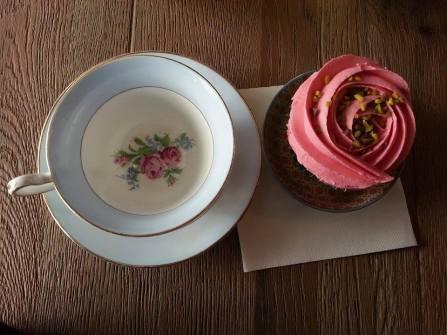 Lille - salon de thé Sweet Flamingo - cupcake