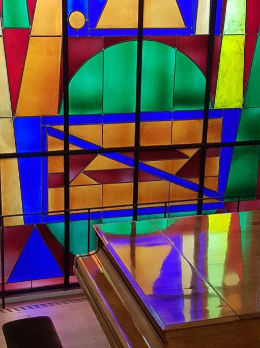 Musée Matisse - vitrail Herbin