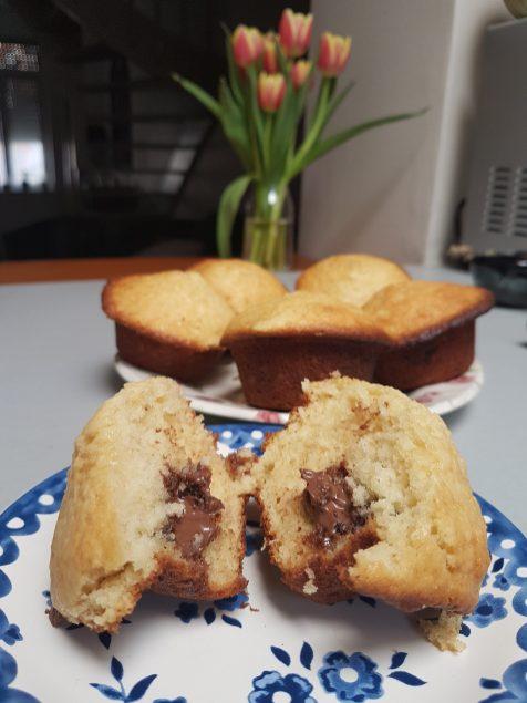 muffins au Nutella - recette La Famille