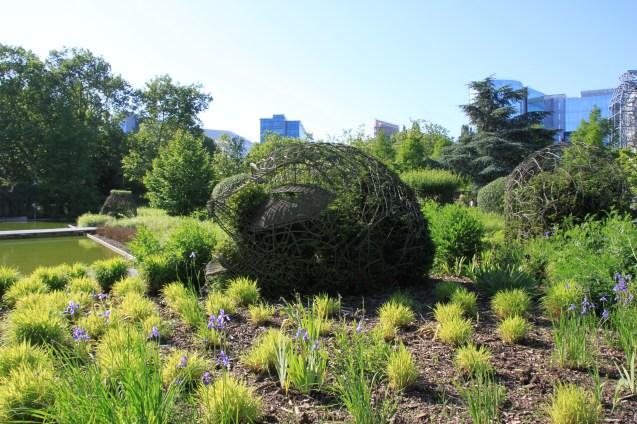 jardin des géants - tête