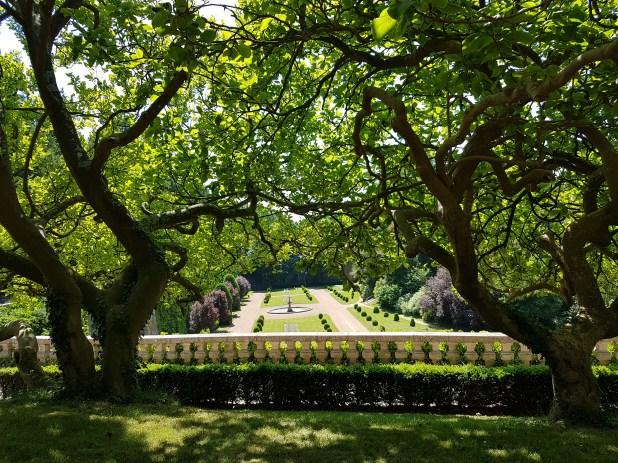 Saint-Omer - jardin perspective