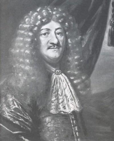 """Finansakrobatar slik dei såg ut på 1600-talet, ikkje ulikt i dag. <a href=""""http://skeel.info/showmedia.php?mediaID=5032&medialinkID=15917"""">(Her er maleri av Henrik Müller med stort krøllete hår)</a>"""