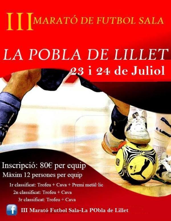 20160723 3 marato de futbol sala la pobla de lillet