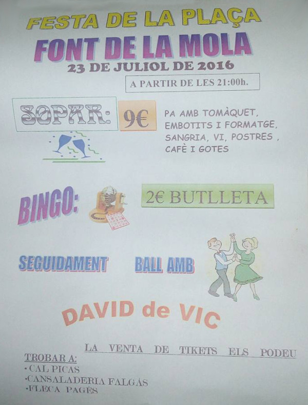 20160723 Festa de la plaça Font de la Mola 2016