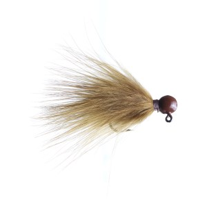 Lilley's Sculpin, Brown Head Marabou Jig