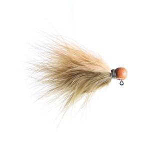 Lilley's Sculpin/Ginger, Orange Head Marabou Jig