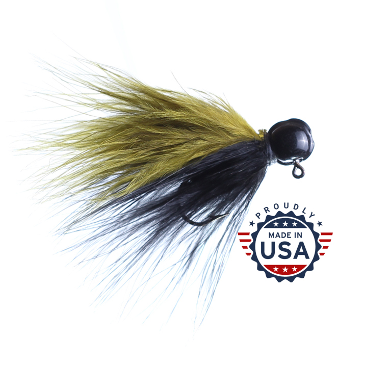 marabou jigs made in the USA
