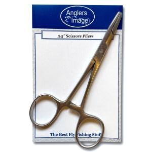 Anglers Image 5.5″ Scissor Pliers
