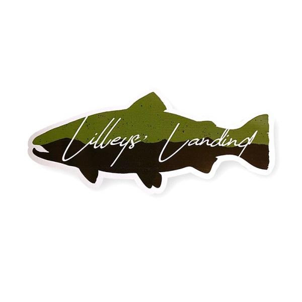 Lilleys' Landing Die Cut Sticker