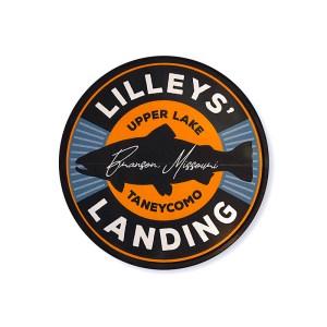 Lilleys' Landing Circle Sticker
