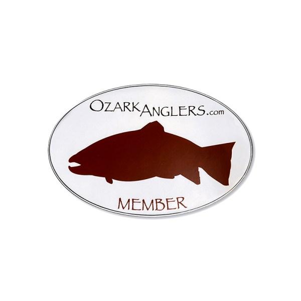 Ozark Anglers member Oval