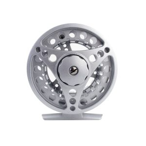Rudder Fly Reel – Silver