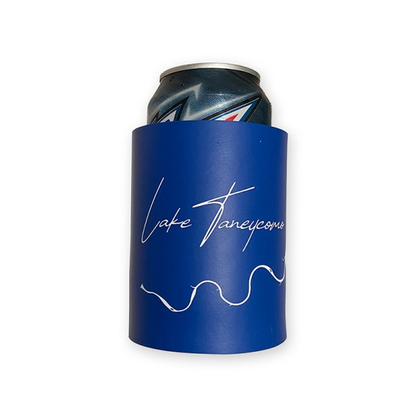 Lake Taneycomo Koozie with can