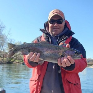 DJ Laffey rainbow trout