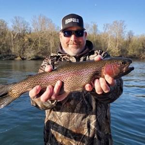 Derek Tugel rainbow trout