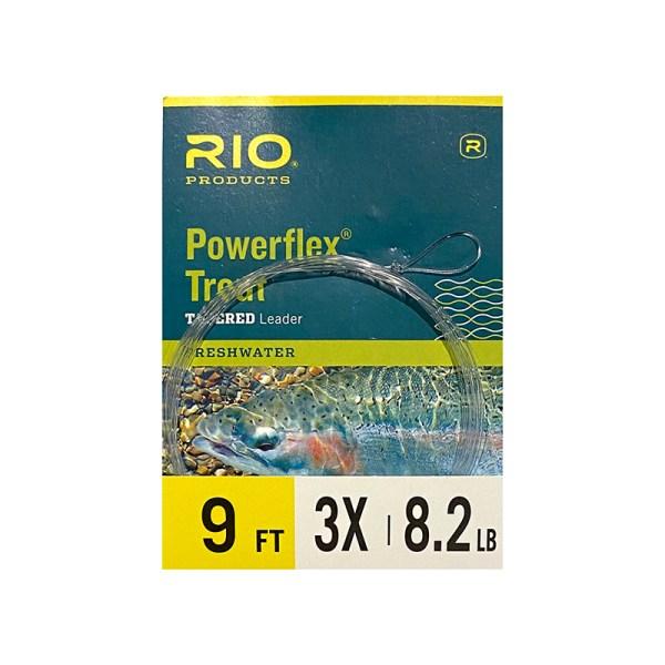 Rio Powerflex Trout Leader 3x 9ft