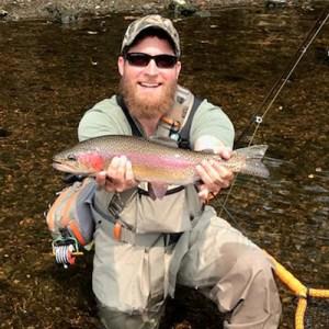 Kevin Persinger Jr - Rainbow trout